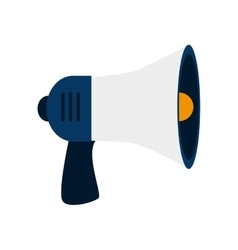 megaphone device speak loud vector image
