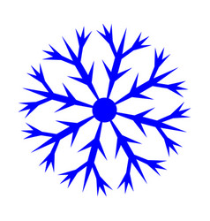 snowflake sign 3110 vector image