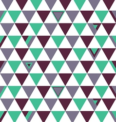 Spain Top Colors Background Triangle Polygon vector image