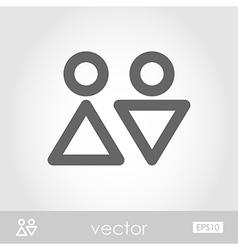 WC icon vector