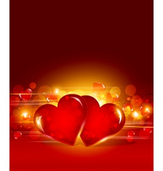 festive valentines day vector image