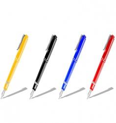 color handles vector image