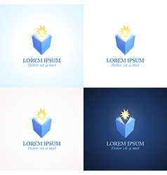 Education Logos vector image