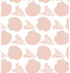 Shell seamless vector