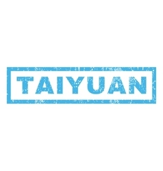 Taiyuan Rubber Stamp vector image