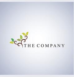 tree logo ideas design vector image