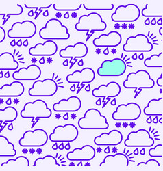 weather background5 vector image