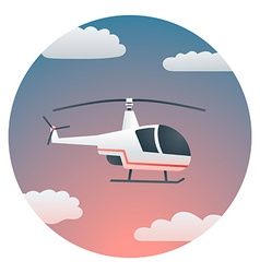 Helicopter Detailed vector image vector image