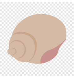 shell isometric icon vector image