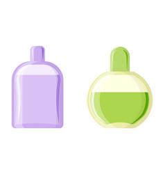 perfume glamour fashionable beautiful cosmetic vector image vector image