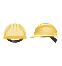 safety helmet construction helmet isolated on a vector image vector image