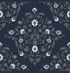 Classic ottoman turkish style floral pattern vector