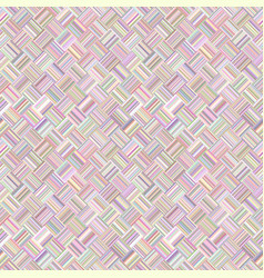 colorful abstract repeating diagonal striped tile vector image