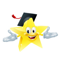 education star man vector image