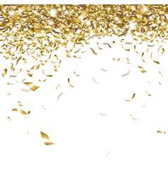 Festive confetti vector