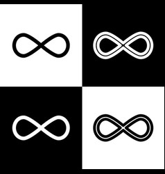 Limitless symbol black and vector