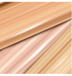 Liquid foundation cream or cosmetic concealer vector