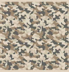 seamless military camouflage pattern seamless vector image