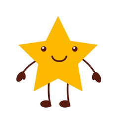 Universe star comic character vector