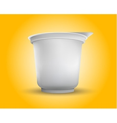 Blank White Foil Food Packaging llustration vector