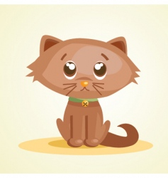 cute pussy vector image