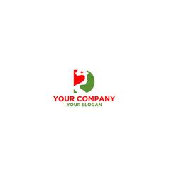 D nurse logo design vector