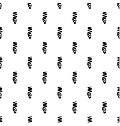 economy eco bulb pattern seamless vector image