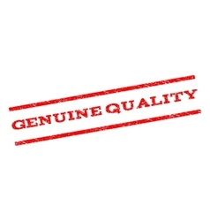 Genuine Quality Watermark Stamp vector