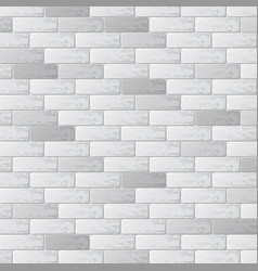 gray brick wall background vector image
