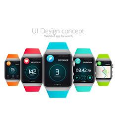 ui design concept vector image