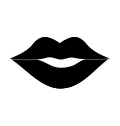 female lips icon image vector image