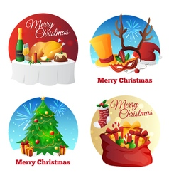 Christmas Party Collection vector image
