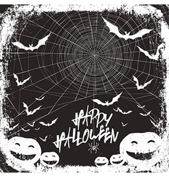 halloween background design black and white colors vector image vector image