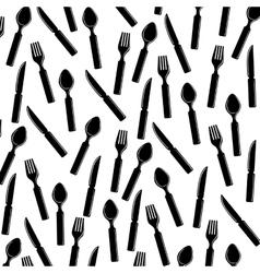 Restaurant cutlery utensil vector image
