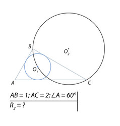 a geometrical problem to vector image