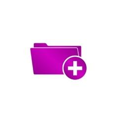 Add Folder icon Eps 10 vector