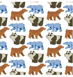 bear animal mammal teddy grizzly funny vector image