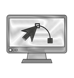 graphic design software vector image