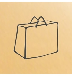 Image of paper bag vector