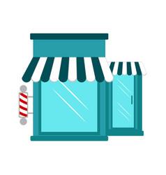 isolated barbershop icon vector image