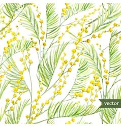 Mimosa pattern vector