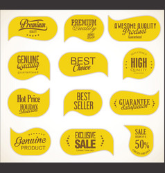 modern sale stickers collection 4 vector image
