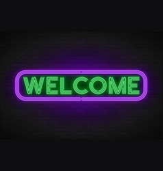neon light linear promotion banner price tag vector image