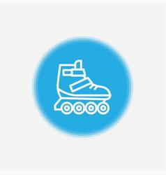 roller skate icon sign symbol vector image