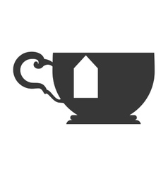 Tea cup icon Tea design graphic vector
