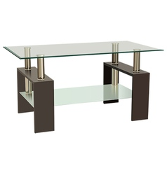 glass table vector image
