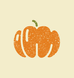 icon pumpkins stylized drawing with colored vector image