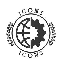 Classic icon vector