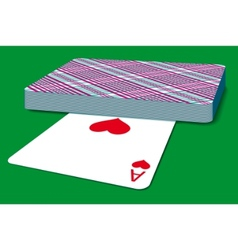 Deck of cards vector