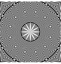 Decorative circle pattern vector